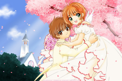 card-captor-sakura-syaoran-li-sakura-kinomoto-love-angel-wallpaper