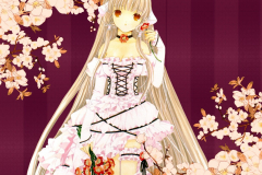 chobits-chi-red-flowers-lace-dress-wallpaper