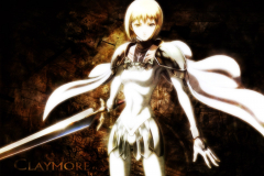 claymore-clare-posing-wallpaper
