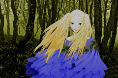 claymore-luciela-forest-wallpaper