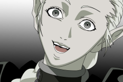 claymore-ophilia-crazy-smile-face-wallpaper