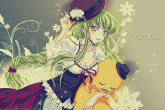 code-geass-c-c-peace-serenity-wallpaper