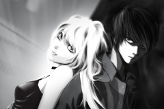 death-note-misa-light-black-and-white-wallpaper