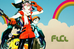 flcl-gaku-kamon-canti-scooter-wallpaper