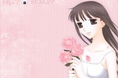 fruits-basket-machi-kuragi-pink-rose-flower-wallpaper