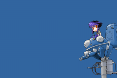 ghost-in-the-shell-motoko-robot-power-line-wallpaper