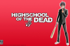 highschool-of-the-dead-takashi-red-background-wallpaper